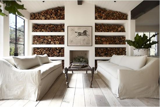 White rustic living room rustic modern living room