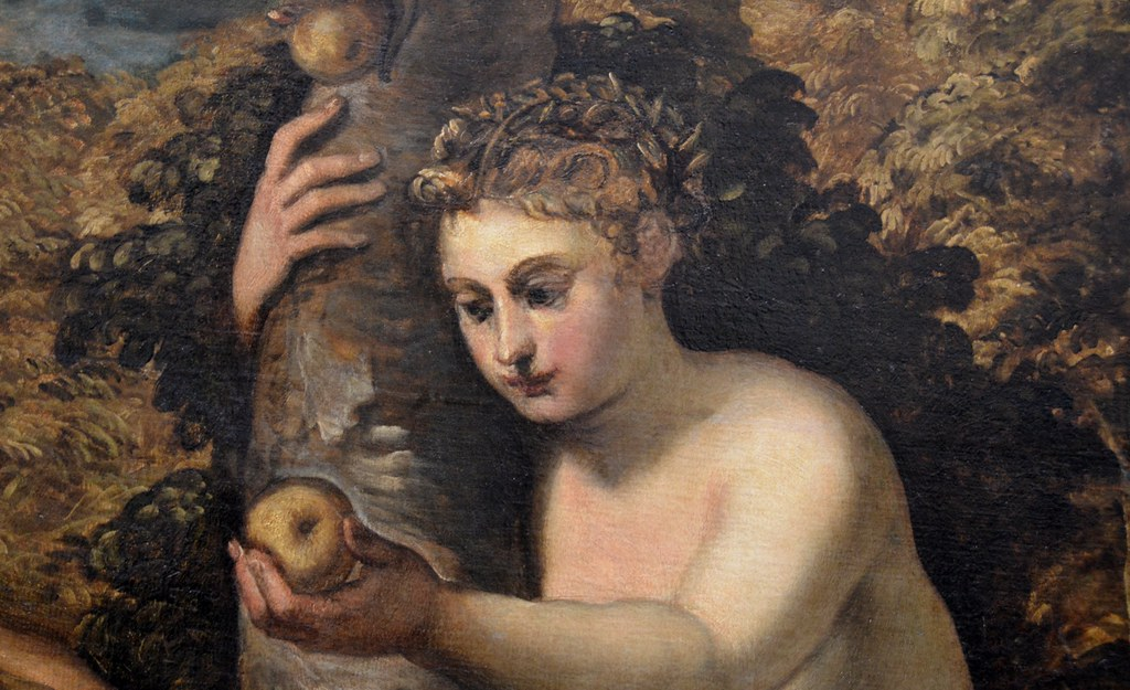 Tintoretto Adam And Eve of Adam And Eve 1