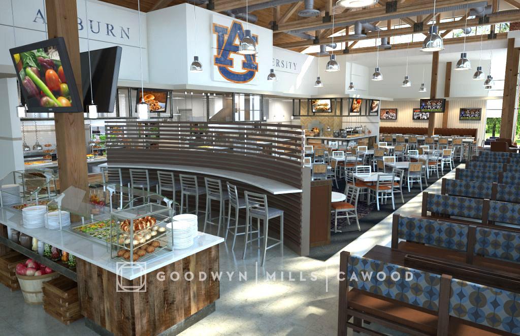 Au wellness kitchen interior concept 2 auburn university - Auburn university interior design program ...