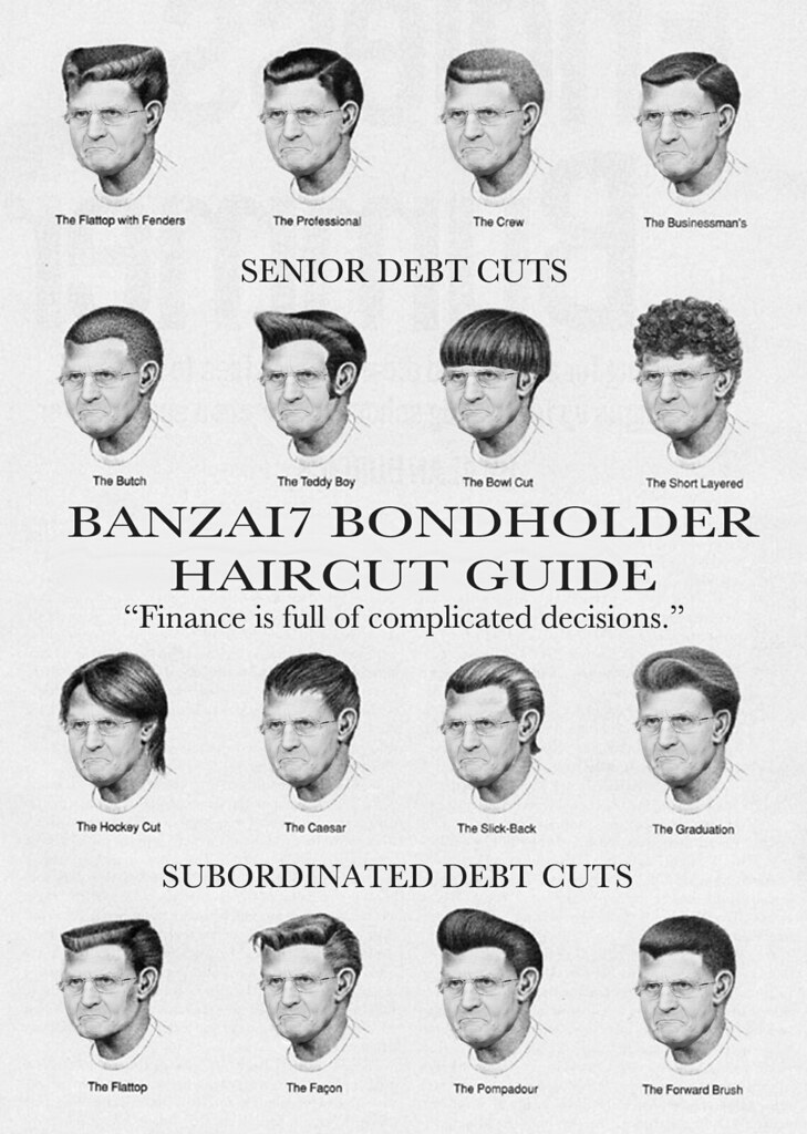 Official Bondholder Haircut Guide Williambanzai7 Colonel