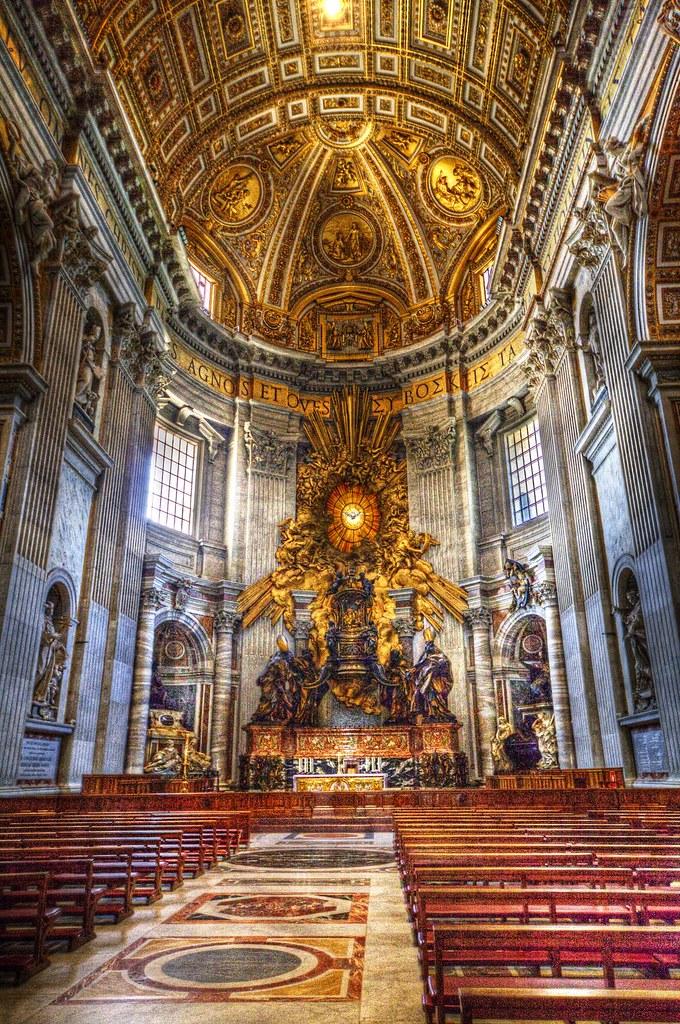 Vatican City - Inside Church