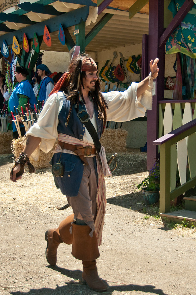 Captain Jack Sparrow @ Colorado Renaissance Festival (iii)… | Flickr Johnny Depp