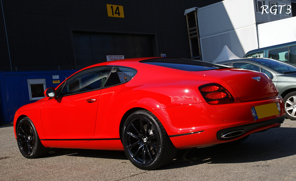 Bentley Continental Gt Supersports St James Red