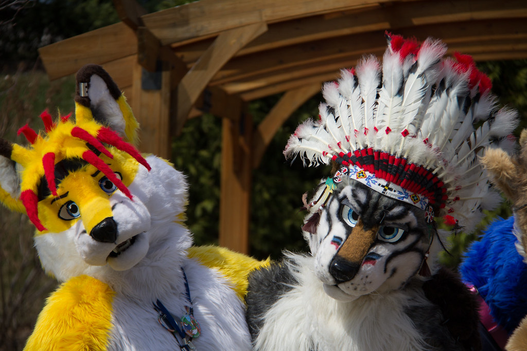 Ssc Fursuits At Motor City Fur Con 2014 Foxlightning And