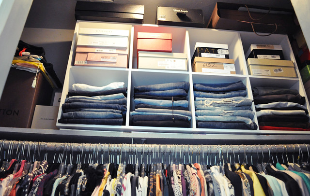 organizing my closet. Black Bedroom Furniture Sets. Home Design Ideas