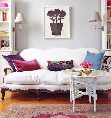 Rashida Jones / Domino {eclectic bohemian vintage modern living ...