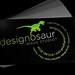 Designosaur Business Card Front