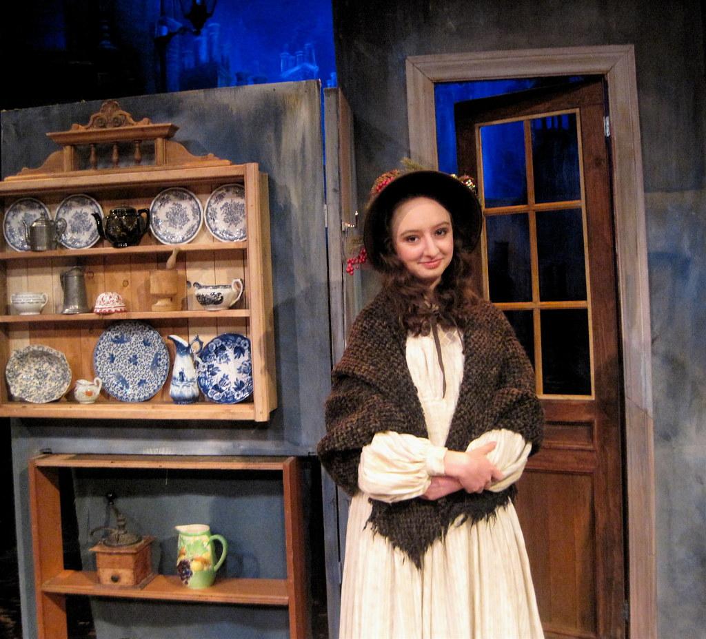 Julia played Martha Cratchit