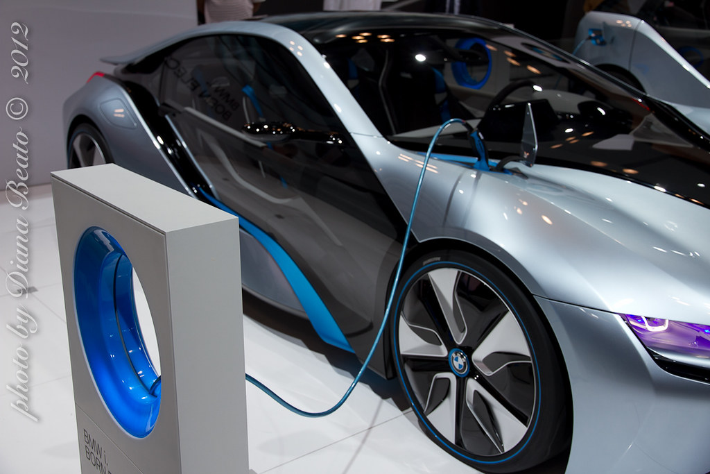 Bmw Concept Electric Car Bmw I Proudly Introduces The B Flickr