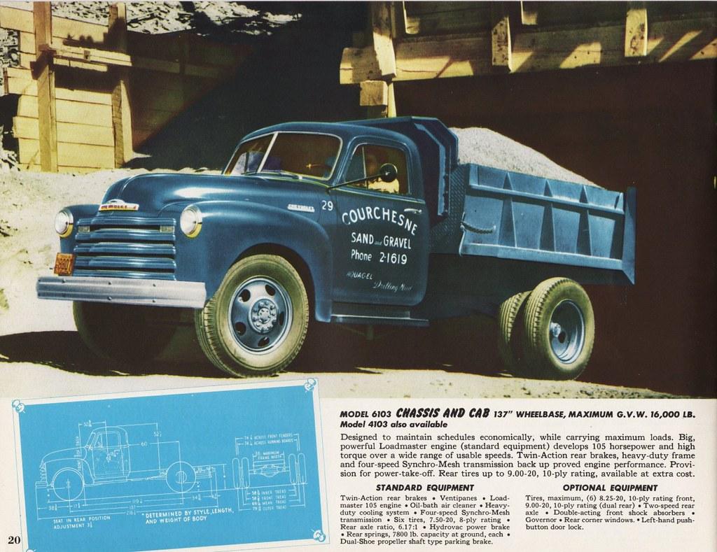 1952 Chevrolet Dump Truck | Alden Jewell | Flickr