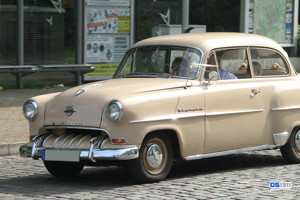 1953 1954 opel olympia rekord see more car pics on my. Black Bedroom Furniture Sets. Home Design Ideas