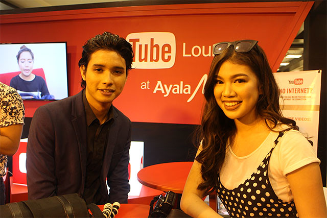 Youtube Lounge Ayala Malls Philippines Digital Lifestyle Duane Bacon Kanina Vella