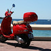 Vespa on Cannes