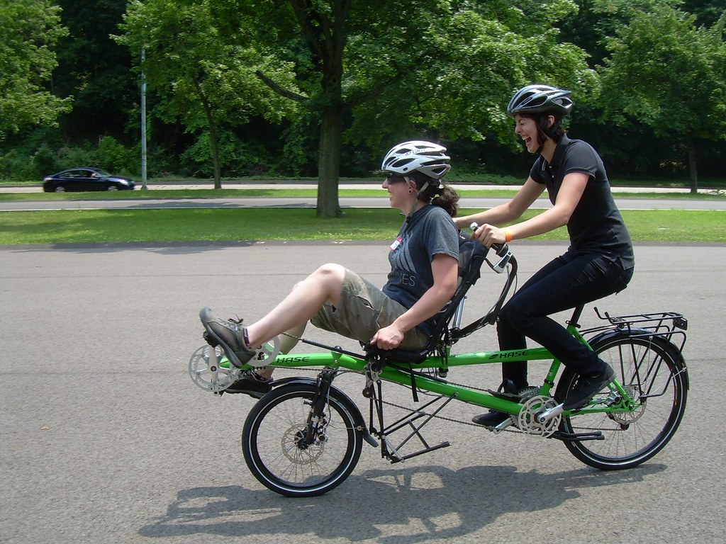 Hase Semi-Recumbent Tandem | Seen at the Try-A-Bike ...