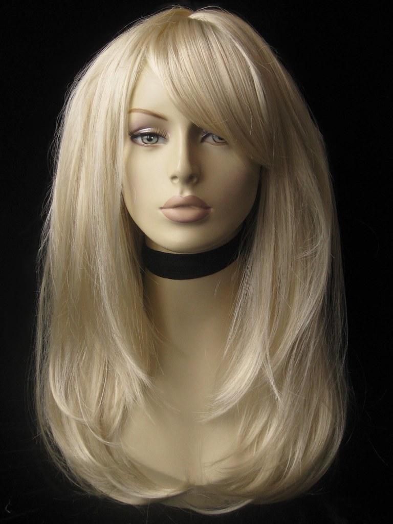 Real Hair Wigs Blonde