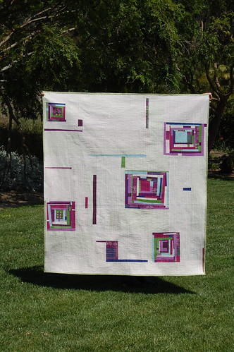 echino Punch Quilt | by bloomingpoppies