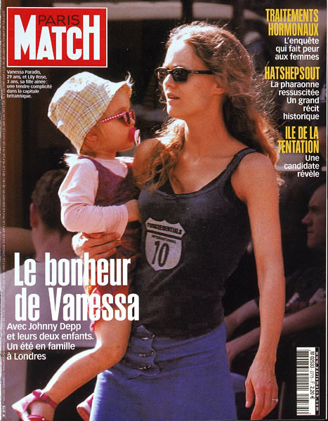 couverture de paris match n 2775 le bonheur de vanessa p flickr. Black Bedroom Furniture Sets. Home Design Ideas