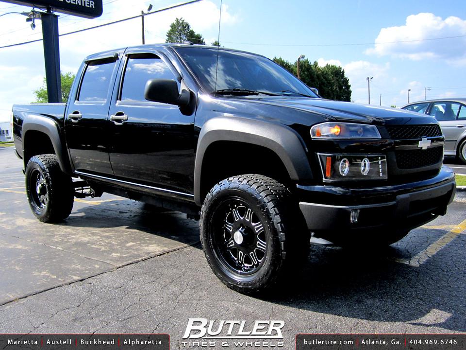 Chevy Colorado with 18in Black Rhino Spinreel Wheels | Flickr