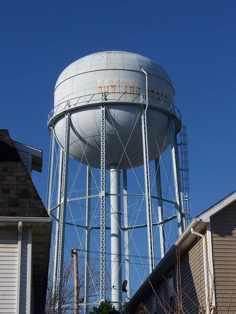 Jobs In Bowling Green Ohio Oh Bowling Green Water Tower