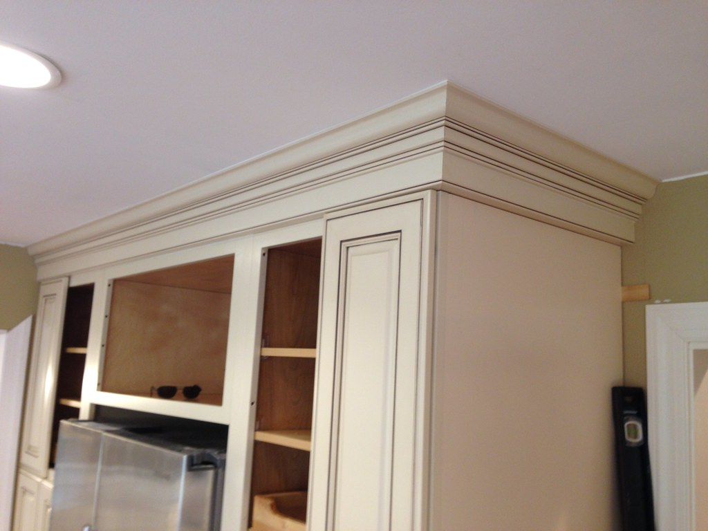 Kitchen Cabinet Crown Molding In Richmond Va 6 Brian Moloney