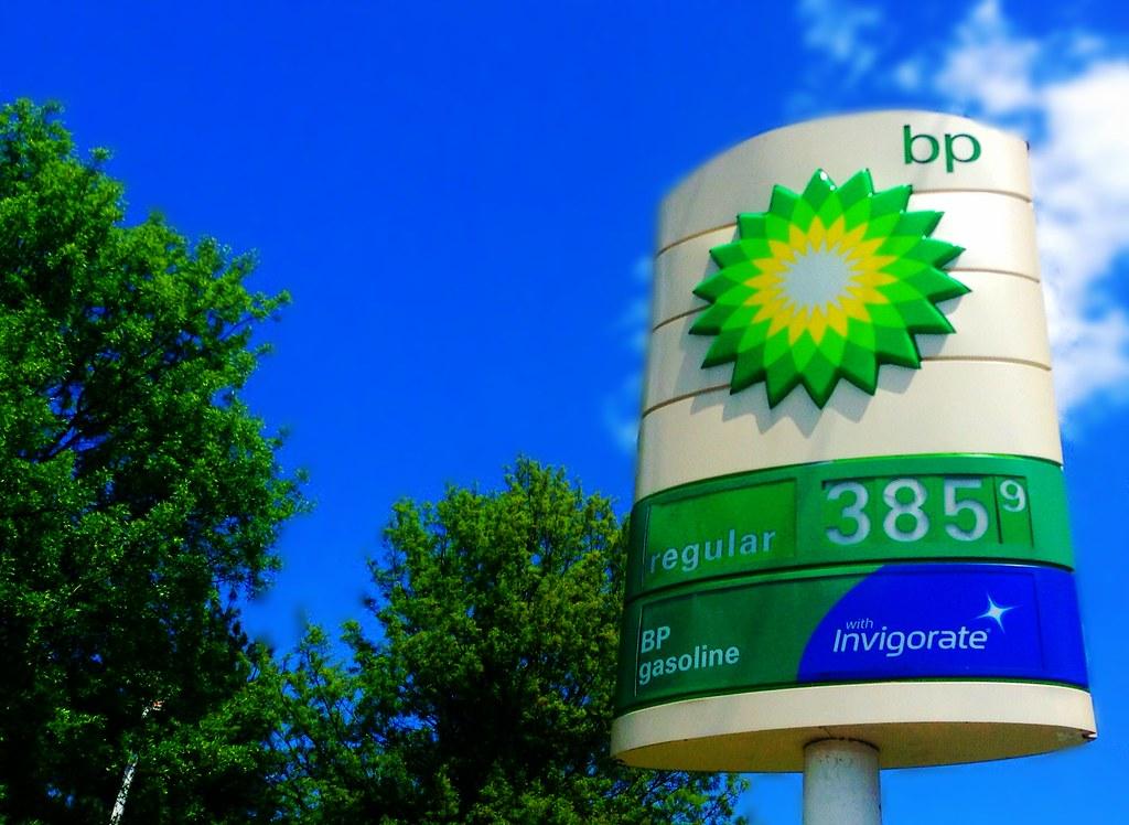 Bp British Petroleum Gas Station Sign 5 2014 Pics Flickr