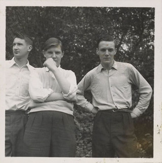 Teenage boys, ca. 1955 | by Archives of American Art, Smithsonian Institution