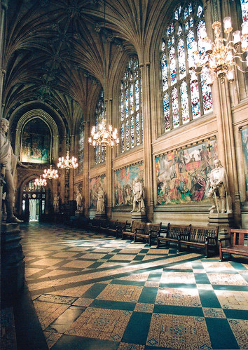 House Of Commons Foyer : St stephen s hall formerly the chamber of house