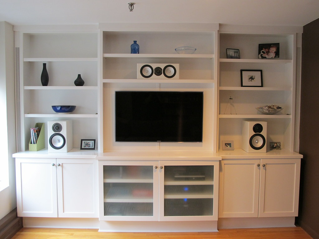 wall unit designed and built by new york design and constr flickr. Black Bedroom Furniture Sets. Home Design Ideas