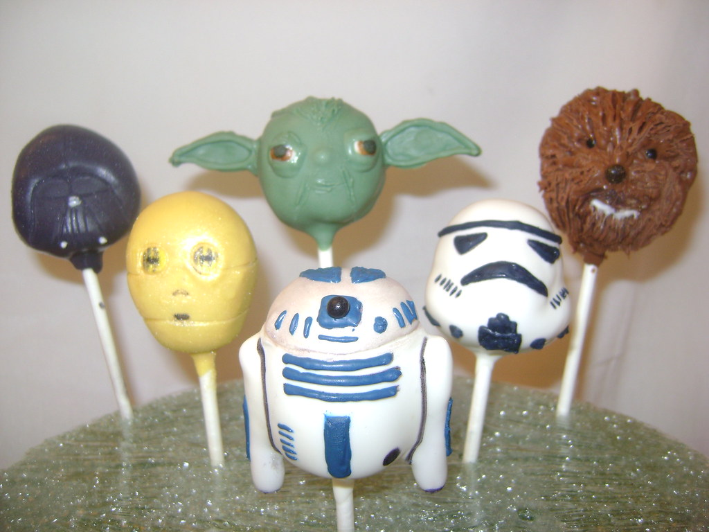 star wars cake pops wars cake pops inspired by my husband who 7675