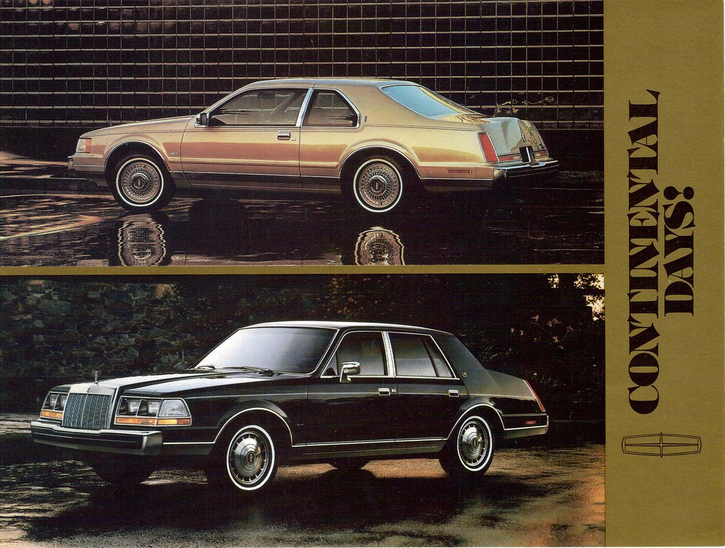 1985 Lincoln Continental And Mark Vii Coconv Flickr