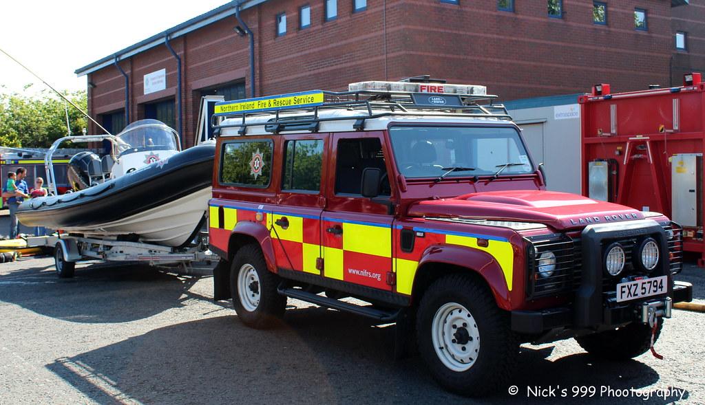 Northern Ireland Fire Rescue Service W1176 Fxz 5794