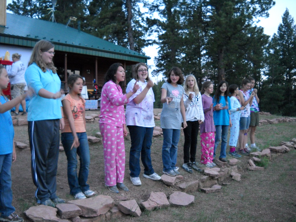 all camp movie night and sleepout girl scouts of