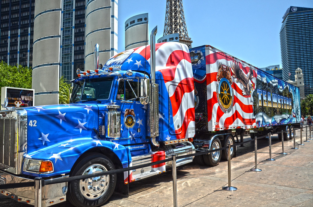 Teamster Truck On Display As Part Of The International