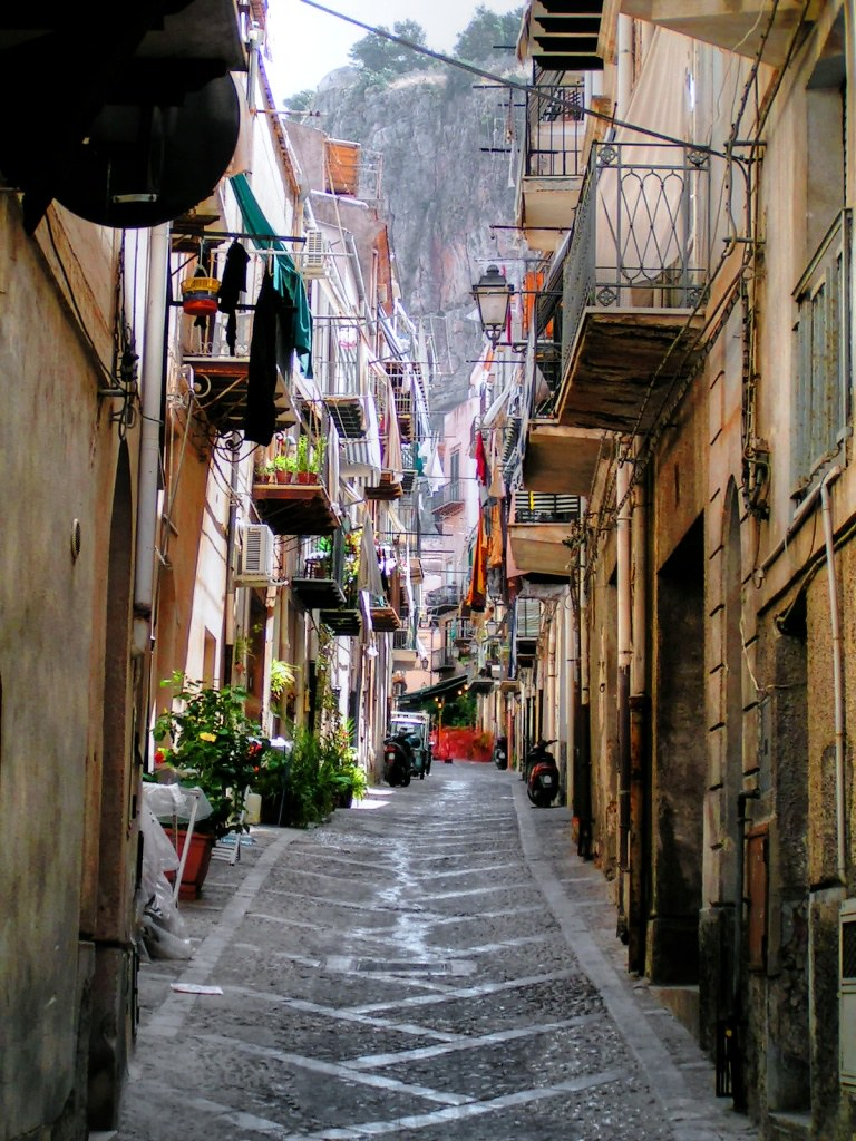 Streets In Cefalu Palermo Sicily Italy You Can Use
