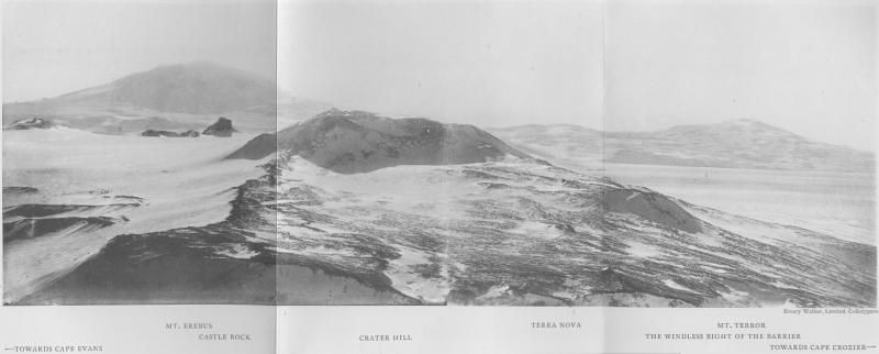 Πανοραμική θέα του νησιού Ρος από τον λόφο Κρέιτερ