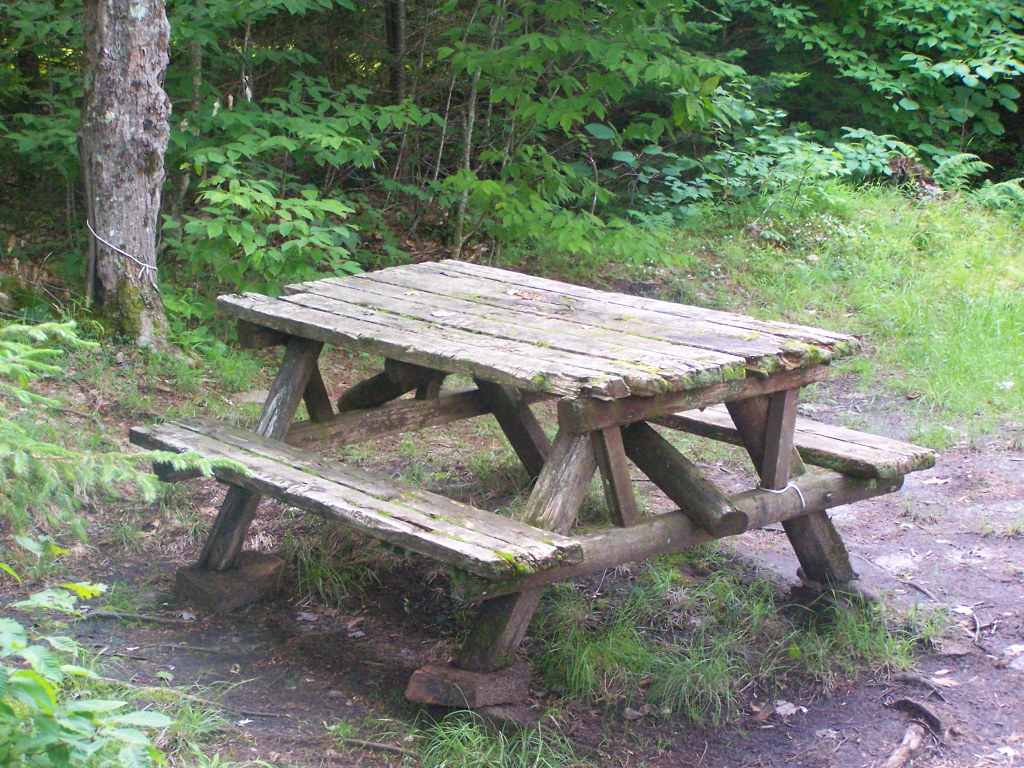 Decent Picnic Table at Campsite 2 | Old, but it works. There… | Flickr