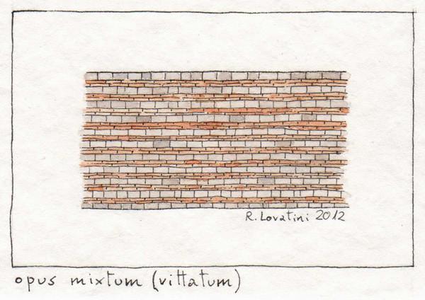 Opus Mixtum Vittatum Una Serie Di Disegni Per Dei Miei
