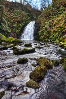 Glenoe Waterfall | by shylands