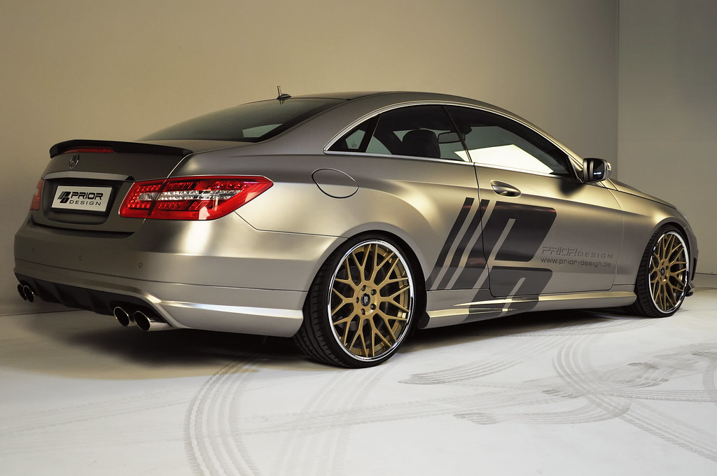 prior design mercedes benz e class w207 amg prior design m flickr. Black Bedroom Furniture Sets. Home Design Ideas