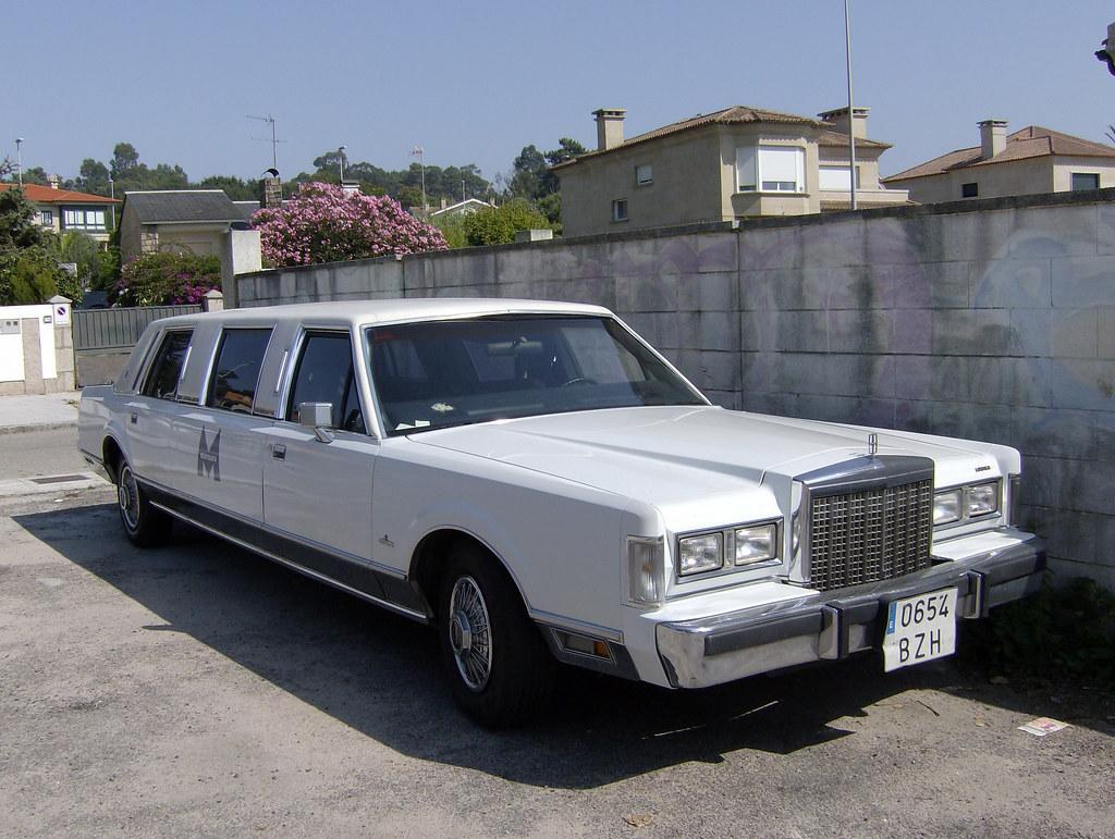 1987 Lincoln Town Car Limousine Fiattipoelite Flickr