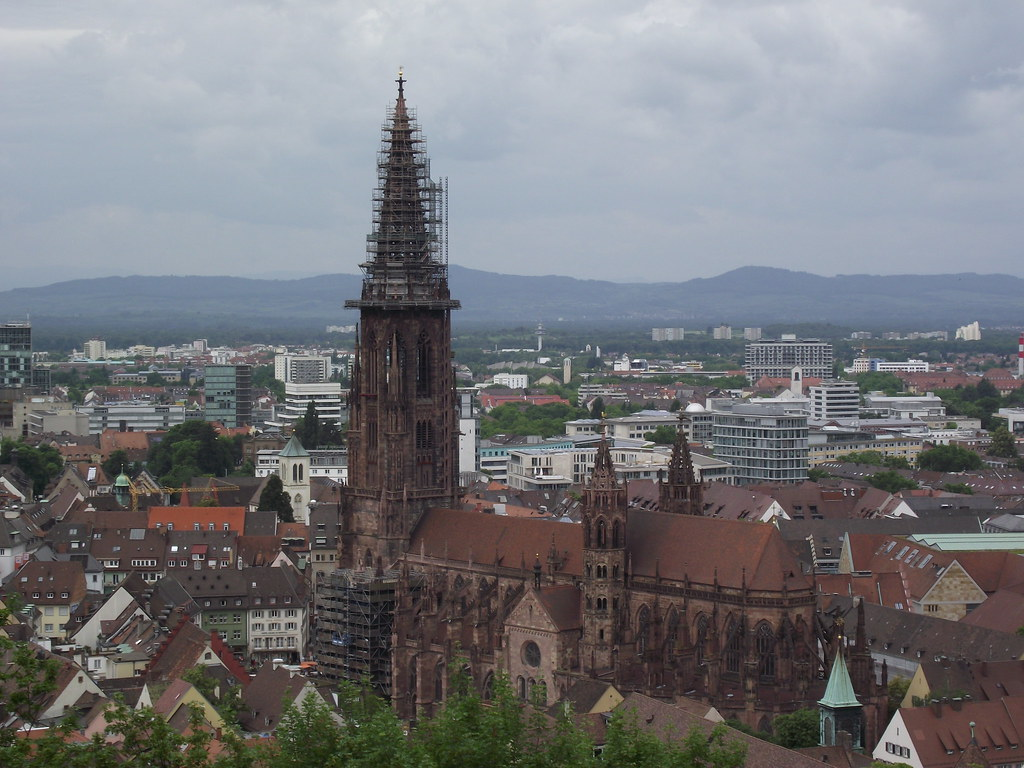 freiburg minster is the cathedral of freiburg germany flickr. Black Bedroom Furniture Sets. Home Design Ideas