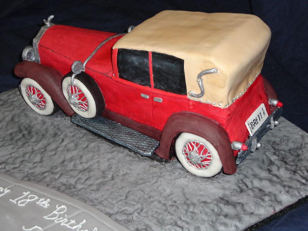 Classic Car Cake Pan