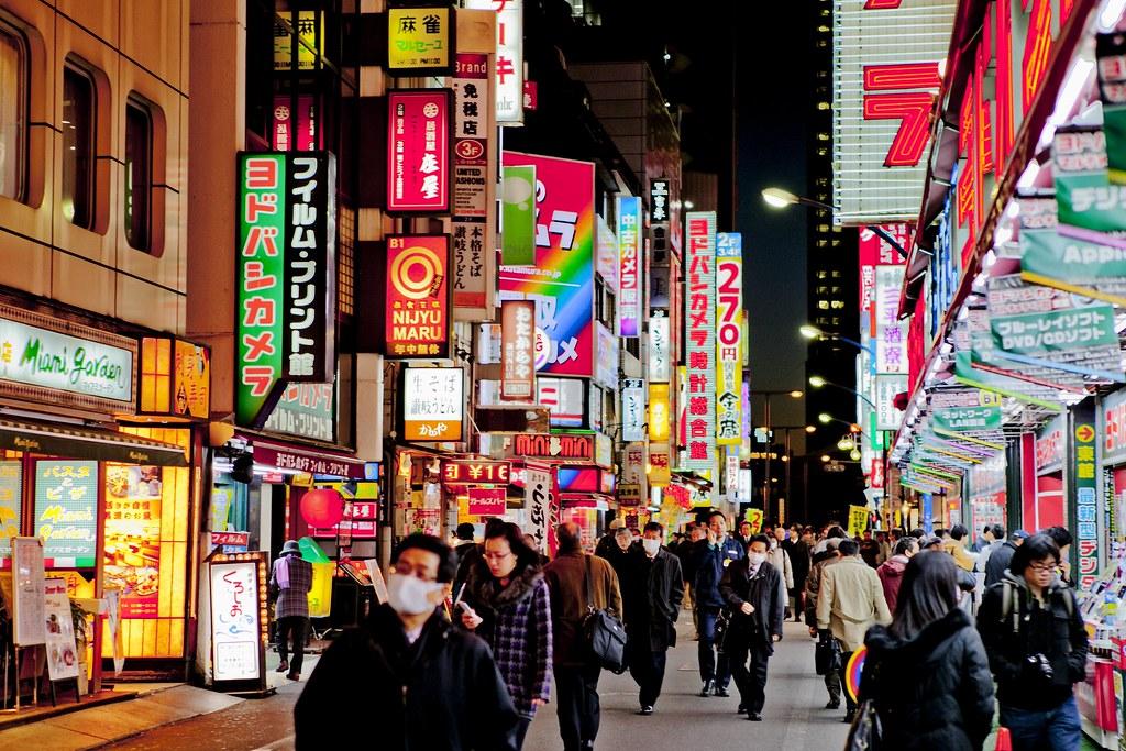 tokyo lights alex pavlou flickr