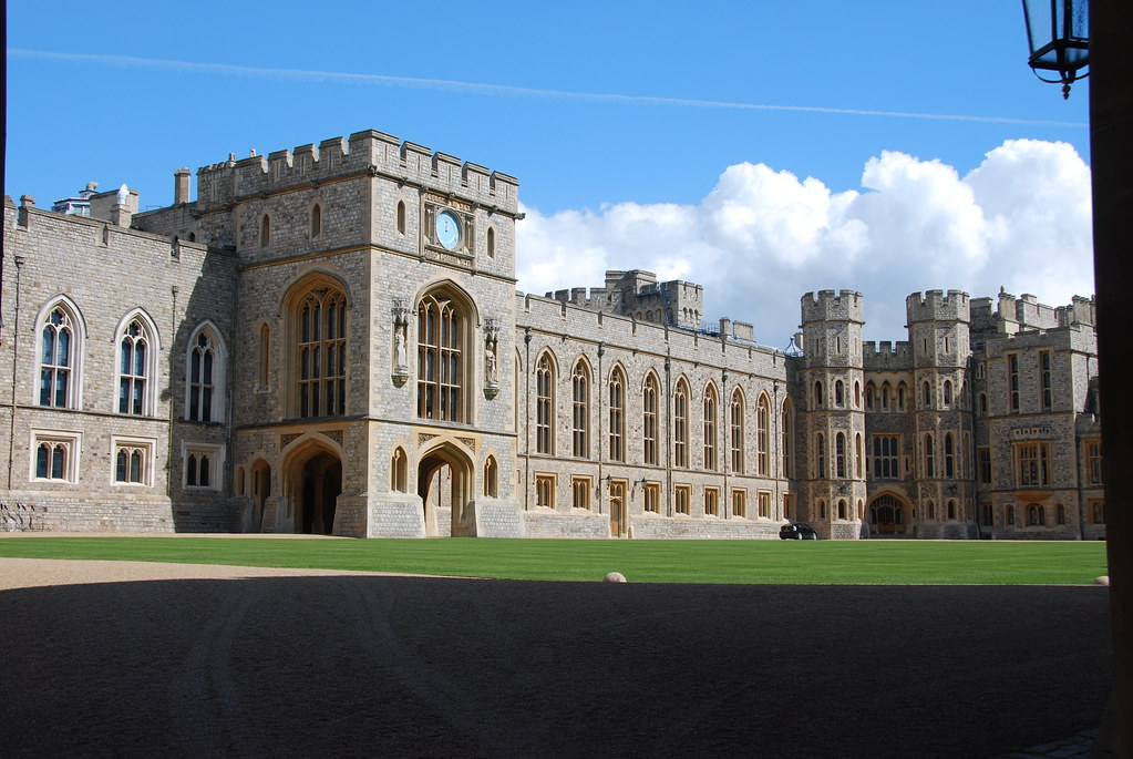 Windsor Castle State Appartments Official Entrance St G Flickr