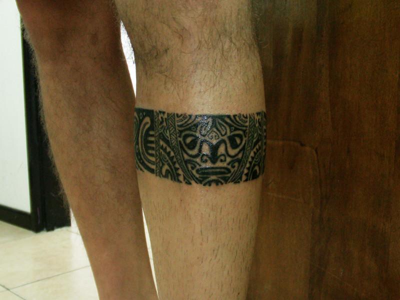 Brazalete Maori Wwwleonrojo Tattoocomar Ignacio Gonzalez Ruiz - Maori-tattoo-brazalete