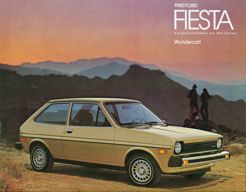 Shopping Vintage With Ford Fiesta