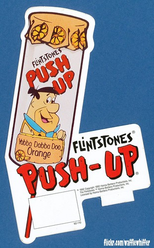 Flintstones Push-Up - 1992 | by Waffle Whiffer