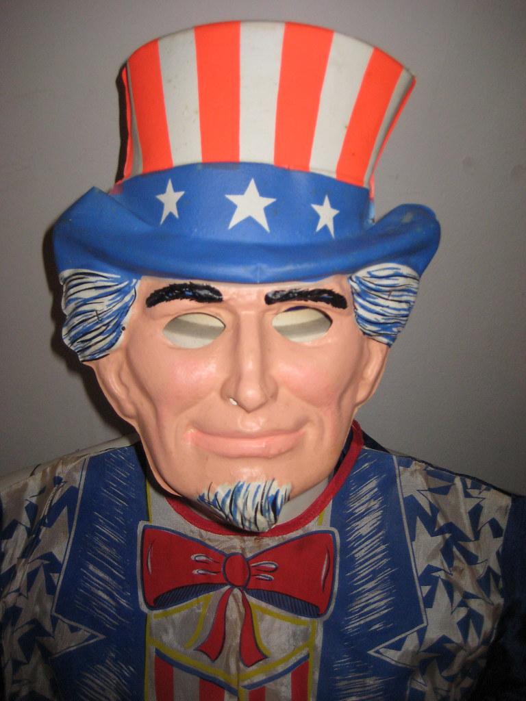 Uncle Sam Mask Halloween Costume 8962 | Halloween James Mont… | Flickr