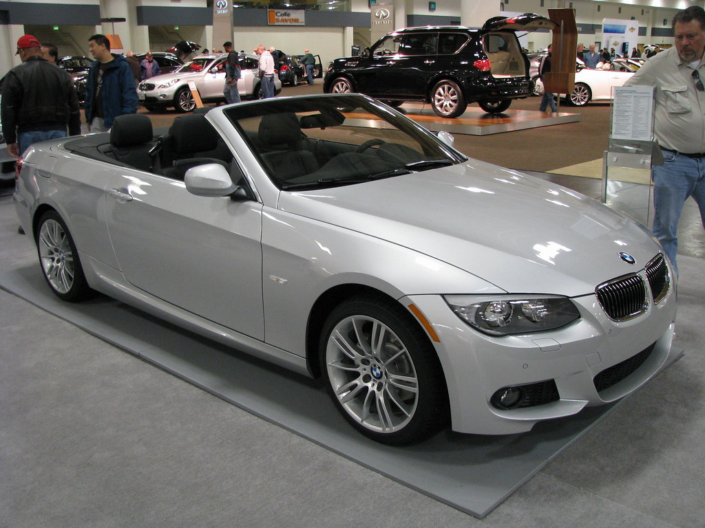 Sweet Looking In Silver The BMW I Convertible Flickr - 2011 bmw convertible
