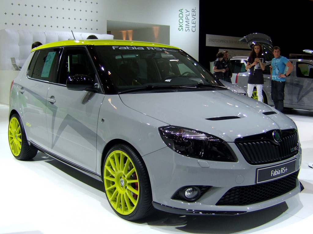 skoda fabia rs skoda fabia rs concept car wolfy 666. Black Bedroom Furniture Sets. Home Design Ideas